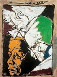 Untitled - M F Husain - Auction 2002 (May)