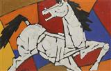 Untitled - M F Husain - Auction December 2005