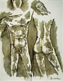 Untitled - M F Husain - Spring Auction 2005