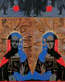 Alpha - Many Selves of Miss `A` - Baiju  Parthan - Spring Auction 2008