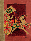 Untitled - M F Husain - Winter Auction 2009