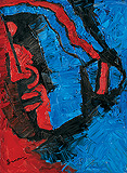 Untitled - M F Husain - Winter Auction 2010