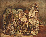 Untitled - Maqbool Fida Husain - Autumn Auction 2011