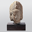Head - Indian Antiquities