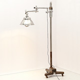 A SURGICAL LAMP, CARL ZEISS -    - 24-Hour Online Auction: Art Deco