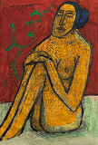 Untitled - F N Souza - Autumn Art Auction