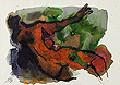 M F Husain - Autumn Art Auction