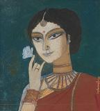 The Flower - Ganesh  Pyne - Autumn Art Auction