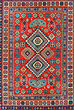 TRIBAL CARPET - CHECHNYA - Carpets, Rugs and Textiles Auction