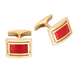 A PAIR OF ENAMEL AND DIAMOND CUFFLINKS -    - Auction of Fine Jewels & Watches