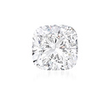 AN UNMOUNTED DIAMOND -    - Auction of Fine Jewels & Watches