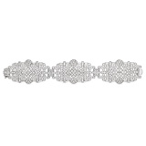 AN ART-DECO INSPIRED DIAMOND BRACELET -    - Auction of Fine Jewels & Watches