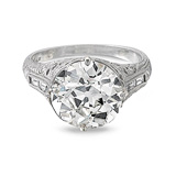A DIAMOND RING -    - Auction of Fine Jewels & Watches