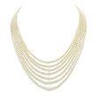 A SEVEN-STRAND NATURAL PEARL NECKLACE - Auction of Fine Jewels & Watches