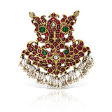 A GEMSET 'GANDABERUNDA' PENDANT -    - Auction of Fine Jewels & Watches