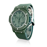 HUBLOT: MENS 'BIG BANG' GREEN CERAMIC WRISTWATCH, REF. 301.GI.5290.RG -    - Auction of Fine Jewels & Watches