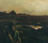 Bikash Bhattacharjee | Paintings by Bikash Bhattacharjee ...