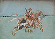 Composite Horse with a Female Rider - Indian Miniature Paintings and Works of Art