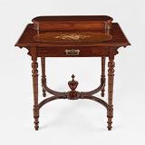 A LADIES 'BONHEUR DU JOUR'  WITH INLAY -    - 24-Hour Online Auction: Elegant Design