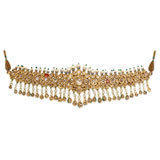 A PERIOD 'POLKI' DIAMOND CHOKER -    - Online Auction of Fine Jewels and Silver