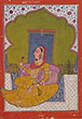 PORTRAIT OF A PRINCESS - Classical Indian Art