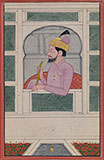 PORTRAIT OF RAJA PRAKASH CHAND OF GULER -    - Classical Indian Art
