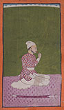 PORTRAIT OF A COURTIER -    - Classical Indian Art