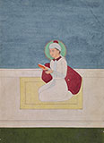 SEATED SUFI SAINT -    - Classical Indian Art
