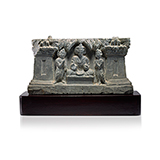 BUDDHA WITH HIS DISCIPLES -    - Classical Indian Art