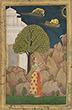 LADY FEEDING A BIRD - Classical Indian Art | Live Auction, Mumbai