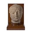 HEAD OF BUDDHA - Classical Indian Art | Live Auction, Mumbai