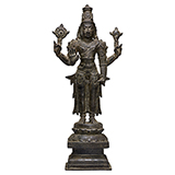 VISHNU -    - Classical Indian Art | Live Auction, Mumbai
