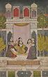 LADY AT HER SRINGAR - Classical Indian Art | Live Auction, Mumbai