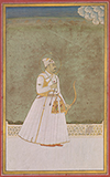 PORTRAIT OF MOHAMMAD SHAH -    - Classical Indian Art | Live Auction, Mumbai
