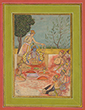 RAGINI BASANT OF RAGA SRI - Classical Indian Art | Live Auction, Mumbai