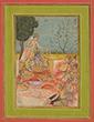 RAGINI BASANT OF RAGA SRI - Classical Indian Art | Live Auction, Mumbai