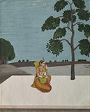 YOGINI IN THE MOONLIGHT -    - Classical Indian Art | Live Auction, Mumbai