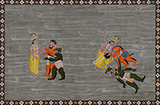 VISHNU SLAYS MADHU AND KAITABHA -    - Classical Indian Art | Live Auction, Mumbai