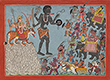 FOLIO FROM THE DEVI MAHATMAYA - Classical Indian Art | Live Auction, Mumbai