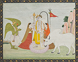 ADORATION OF HARIHARA -    - Classical Indian Art | Live Auction, Mumbai