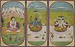 SHIVA, VISHNU AND BRAHMA - Classical Indian Art | Live Auction, Mumbai