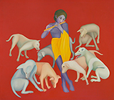 Untitled - Manjit  Bawa - Evening Sale of Modern and Contemporary Indian Art