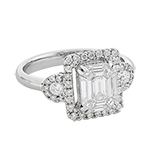 DIAMOND RING -    - Fine Jewels and Objets