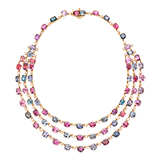 MULTI-COLOURED SPINEL NECKLACE -    - Fine Jewels and Objets