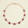 RUBY AND DIAMOND NECKLACE - Fine Jewels and Objets