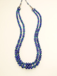 TANZANITE AND EMERALD BEADS NECKLACE - Fine Jewels and Objets
