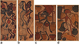 FOUR SANTHAL PAINTINGS -    - Living Traditions: Folk & Tribal Art