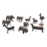 MENAGERIE OF ANIMALS -    - Living Traditions: Folk & Tribal Art
