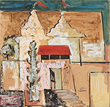 Temples - Hari Ambadas Gade - The Ties That Bind: South Asian Modern and Contemporary Art