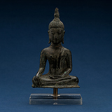 BUDDHA TOUCHING THE GROUND -    - Asian Art